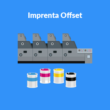 Imprenta Offset en Madrid